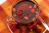 Chá de frutas — Foto Stock
