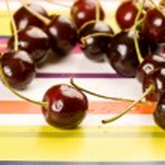 Ripe cherries — Stock Photo #1396897