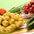 New potatoes — Stock Photo #1396928