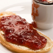 Home-made jam — Stock Photo