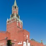 Spaskaya tower — Stock Photo