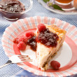 Cheese-cake — Foto de Stock