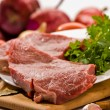 Raw meat - Stock Photo