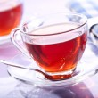 Tea in glass — Stock Photo