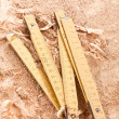 Wooden Ruler — Stock Photo #1428880