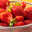 Royalty-Free Stock Photo: Strawberry dish