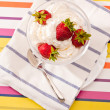 Stock Photo: Strawberry dish