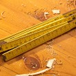 Stock Photo: Old Ruler