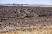 Plough land — Stock Photo