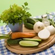 Vegeterian food — Stock Photo