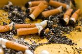 黑烟的时间 — 图库照片