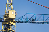 Cabine of a crane — Stock Photo