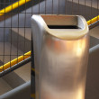 Garbage can — Stockfoto