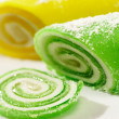Swiss rolls - Stock Photo