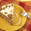 Almonds cake — Stock Photo