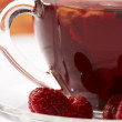 Stock Photo: Fruit tea