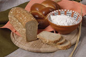 Assorted bread — Stock Photo