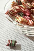 Stripy lollipop — Stock Photo