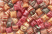 Striped candy — Stock Photo