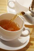 早期的茶 — 图库照片