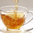 Stock Photo: Stream of tea
