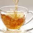 Stream of tea — Stock Photo