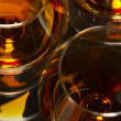 Brandy glasses — Stock Photo