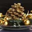 Christmas still life — Foto de Stock