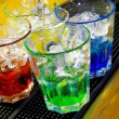 colorful cocktail — Stock Photo