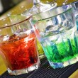 Colorful cocktail — Stockfoto