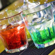 Colorful cocktail — Stok fotoğraf
