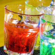 Colorful cocktail — Foto de Stock