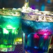 Foto Stock: Colorful cocktail