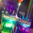 bunte cocktail — Stockfoto