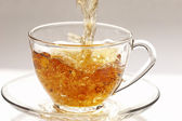 Flusso di tè — Foto Stock