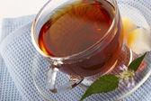 örtartade te - naturliga läkemedel — Stockfoto