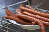 Yummy sausages — Stock Photo