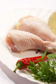 Preparation chicken — Stock Photo