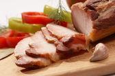 Piatto di carne — Foto Stock