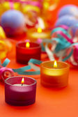 Festiv candle — Stock Photo