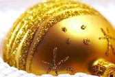 Bola de ouro — Fotografia Stock
