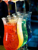 Colorido cóctel — Foto de Stock