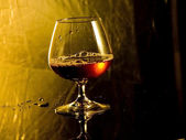 Cognac bocal — Stock Photo