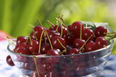 Cherry for dessert — Stock Photo