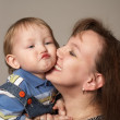 Kiss my baby — Stock Photo