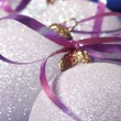 Stock Photo: X-mas bauble decoration
