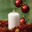 Christmas stil life decoration — Stockfoto