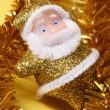 Christmas santa's decoration — Stock Photo
