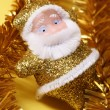Royalty-Free Stock Photo: Christmas santa\'s decoration