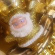 Santa decoration — Stock Photo